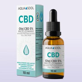 AQUA SOOL CBD 5% full spectrum
