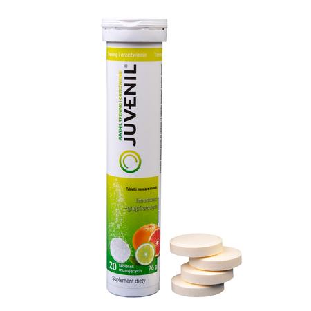 Juvenil, cynk, magnez, witamina B6